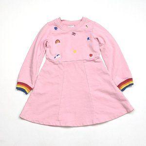 Hanna Andersson Pink Twirly Dress SZ 5T